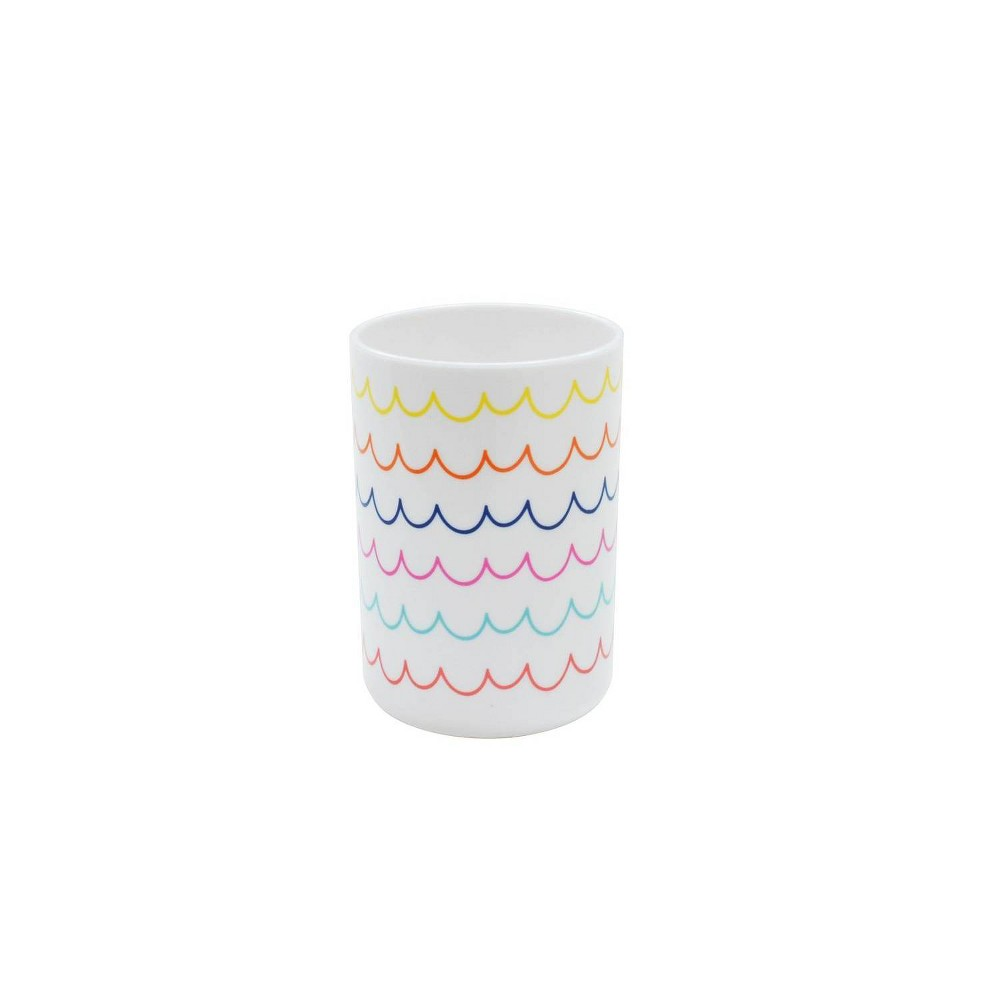 Round Tumbler with Warm Wave Decal White - Pillowfort Reviews
