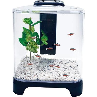 Penn-Plax Betta Fish Aquarium Kit LED Light & Internal Filter 1.5 gallon