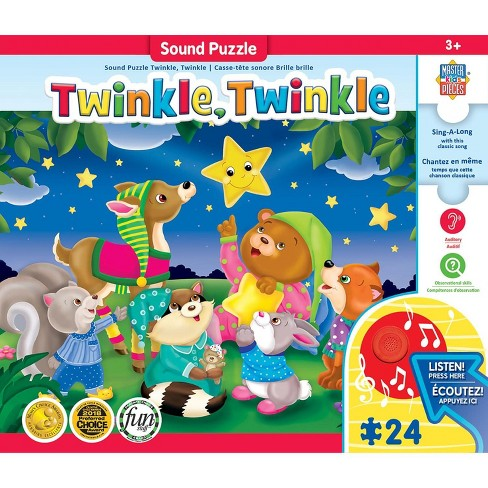 MasterPieces Inc Twinkle Twinkle 24 Piece Sing-A-Long Song Soud Puzzle - image 1 of 4