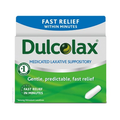 Dulcolax Gentle and Predictable Fast Relief Laxative Suppositories - 28ct