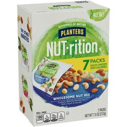 Planters Nut-Rition Wholesome Nut Deluxe Mix - 7.5oz - 6ct
