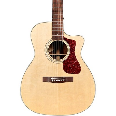 Guild OM-150CE Westerly Collection Orchestra Acoustic Guitar Natural
