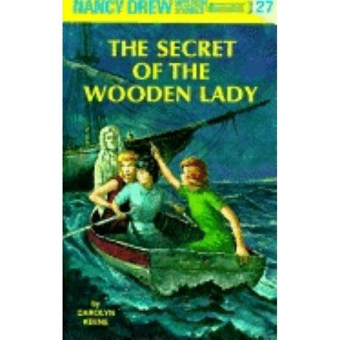 Nancy Drew 27: The Secret of the Wooden Lady - (Nancy Drew (Hardcover)) by  Carolyn Keene (Hardcover) - image 1 of 1