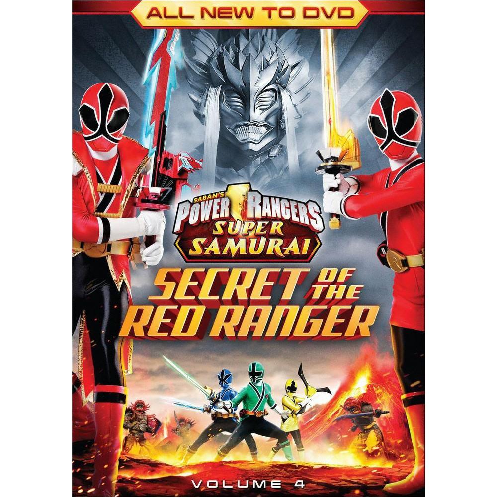 Power Rangers Super Samurai, Vol. 4: The Secret of the Red Ranger