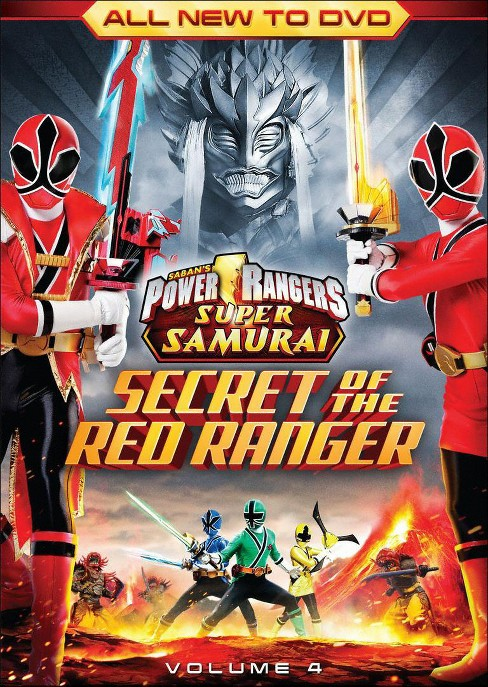 Power Rangers Super Samurai, Vol. 4: The Secret of the Red Ranger - image 1 of 1