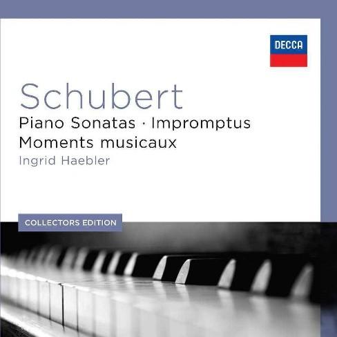 Ingrid Haebler - Collectors Edition: Schubert- Piano Sonatas & Impromptus (CD) - image 1 of 1