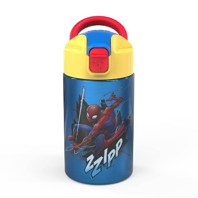 14oz Stainless Steel Valiant Kids Water Bottle - Zak Designs
