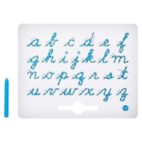 Kid O A to z Cursive Lower Case Magnatab Magnetic Drawing Tablet - image 1 of 2