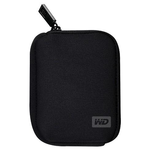 WD Neoprene Hard Drive Case - Black (WDBABK0000NBK-WRSN) - image 1 of 3