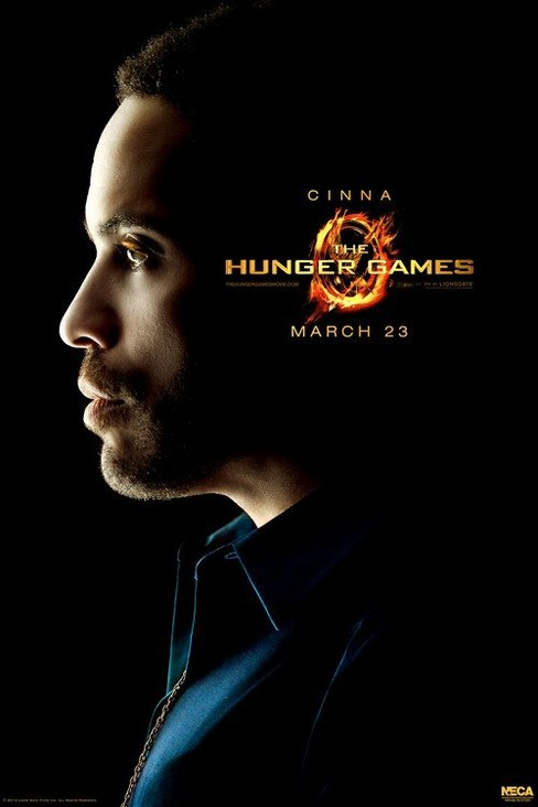 "The Hunger Games Movie Limited Edition poster ""Cinna"" - image 1 of 1"