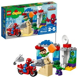 LEGO DUPLO Super Heroes Marvel Spider-Man & Hulk Adventures 10876