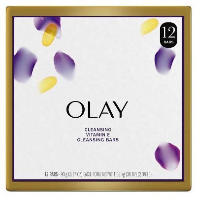 Olay Moisture Outlast Age Defying Beauty Bar Soap - 12pk - 3.17oz each