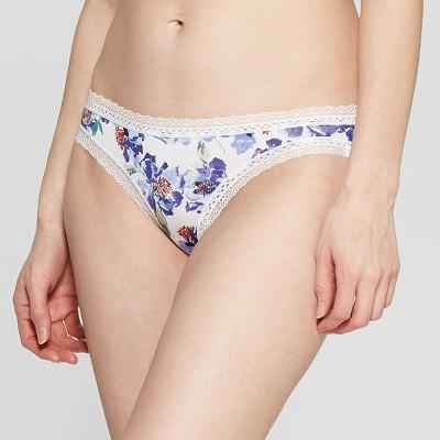 8b035cf11a Women s Cotton Bikini with Lace - Auden™