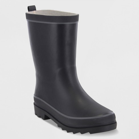 Boys' Western Chief Gonzalo Rain Boots - Black - image 1 of 3