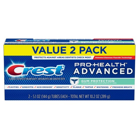 Crest Pro-Health Advanced Gum Protection Toothpaste Twin Pack - 5.1oz - image 1 of 4
