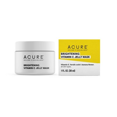 Acure Brightening Vitamin C Jelly Mask - 1 fl oz