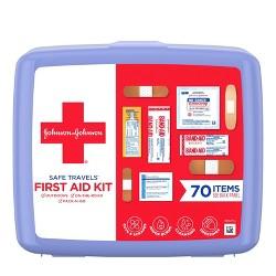 63b31fc6a780 Johnson & Johnson First Aid To Go! Portable Mini Travel Kit - 12pc ...