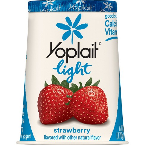 Yoplait Light Strawberry Yogurt - 6oz - image 1 of 3
