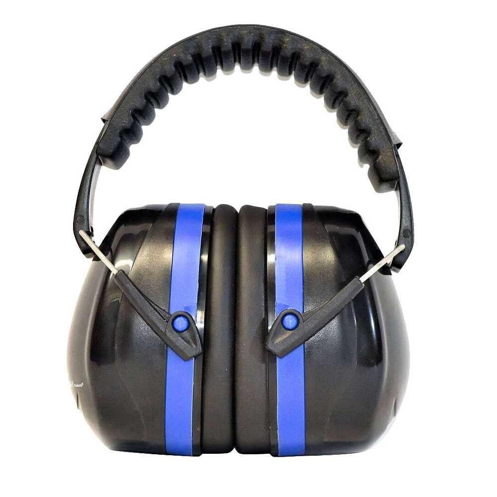 Image of Professional Ear Defenders For Shooting Fits Adults To Kids - Blue - G & F