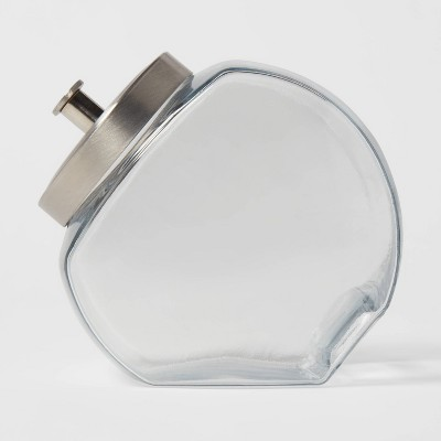 64oz Glass Penny Jar with Metal Lid - Threshold™