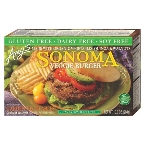 Amy's Gluten and Dairy Free Sonoma Frozen Veggie Burger - 10oz - image 1 of 1