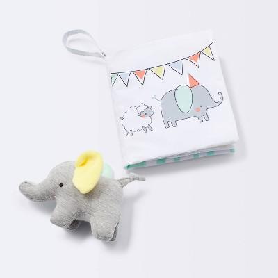 Baby Book and Plush Elephant - Cloud Island™