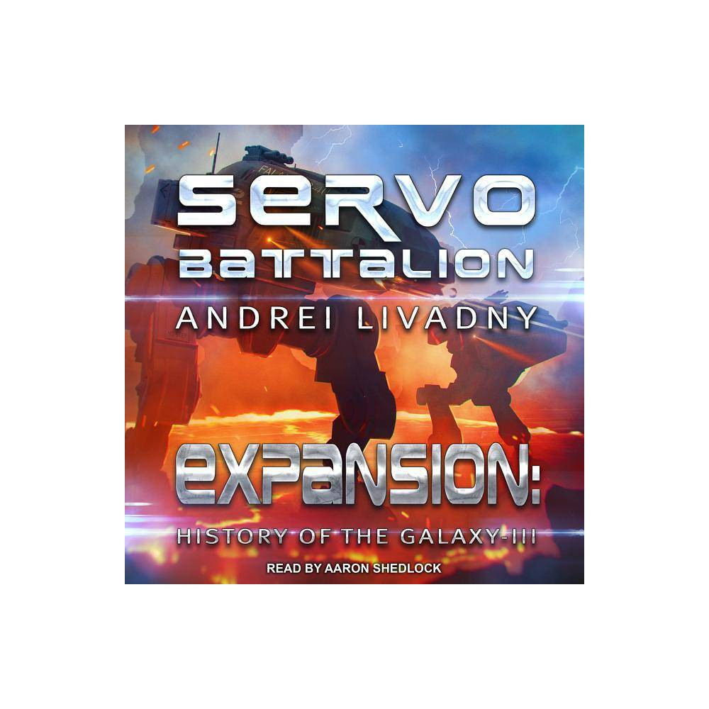 Servobattalion - (Expansion: The History of the Galaxy) by Andrei Livadny (AudioCD) The fire of the First Galactic War has enveloped the inhabited region of space. More and more planets are being drawn into the conflict between the Terran Alliance and the Free Colonies. Weapons are being improved and military artificial intelligence modules are being created. The war of humans is gradually transforming into a war of machines. Direct neurosensory contact technology has led to the emergence of new generation AI. They can scan the pilot's mind and create a matrix of his or her consciousness which would continue to live in the cyber system even if that person died . . .