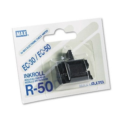 Max R50 Replacement Ink Roller Black