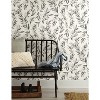 RoomMates Olive Branch Magnolia Home Wallpaper Gray - image 2 of 2