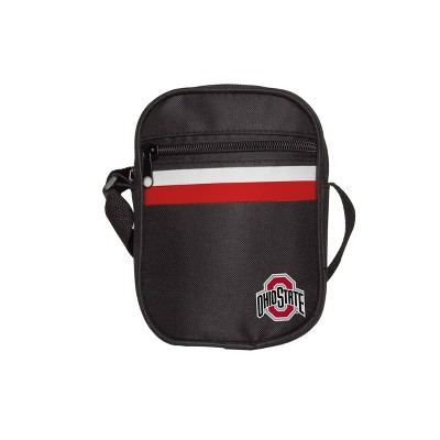 NCAA Ohio State Buckeyes Black Mini Messenger Bag