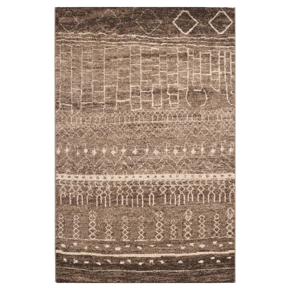 Tunisia Rug - Brown - (4'x6') - Safavieh
