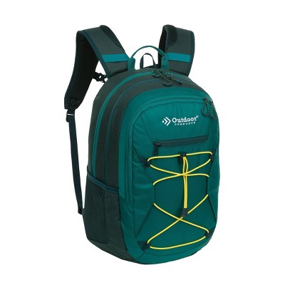 "Outdoor Products 18.1"" Elevation Day Backpack - Green"
