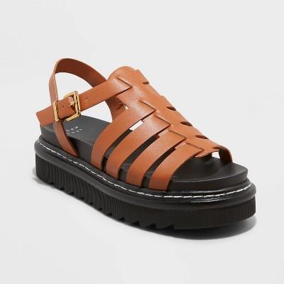 Women's Monroe Platform Sandals - A New Day™