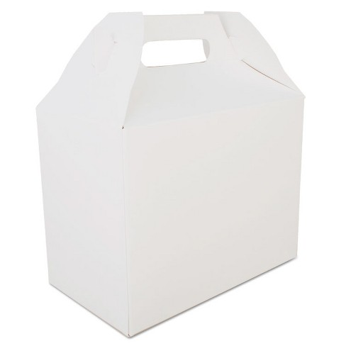 SCT Carryout Barn Boxes, 8 7/8 x 5 x 6 3/4, White, 150/Carton 2709 - image 1 of 1
