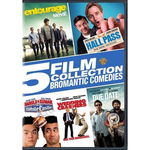 5 Film Collection: Bromantic Comedies (DVD) - image 1 of 1