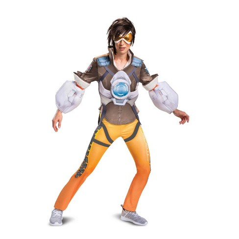 Womens Overwatch Tracer Halloween Costume M