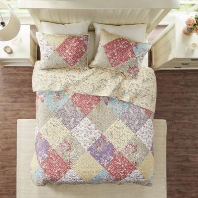 3pc Mariam Cotton Reversible Coverlet Set