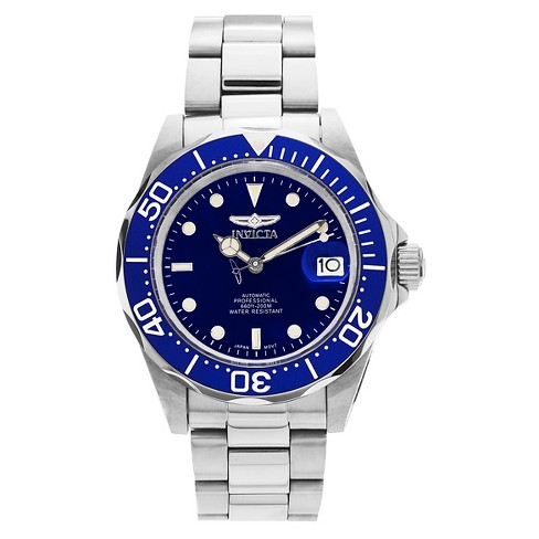 Men's Invicta 9094 Pro Diver Stainless Steel Link Watch - Blue - image 1 of 3