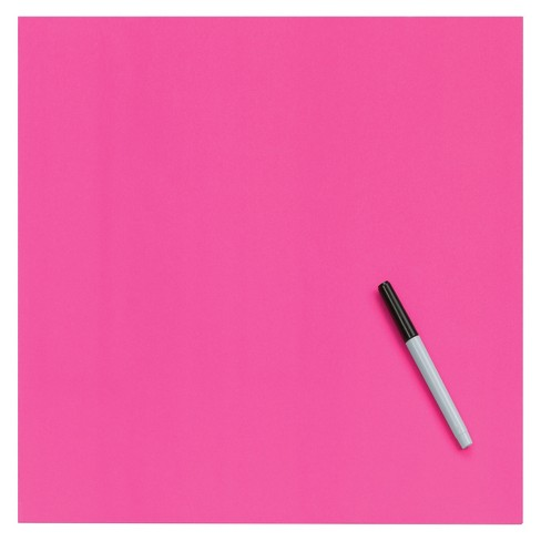 Post-it Sticky Notes 12in x 12in Pink - image 1 of 2