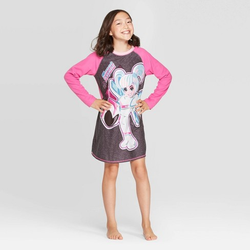 Girls' The LEGO Movie 2 Nightgown - Purple - image 1 of 3