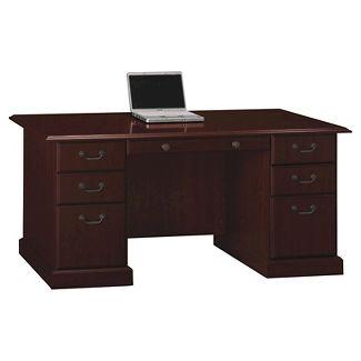 Bennington Manager's Desk from Kathy Ireland Home - Bush Furniture