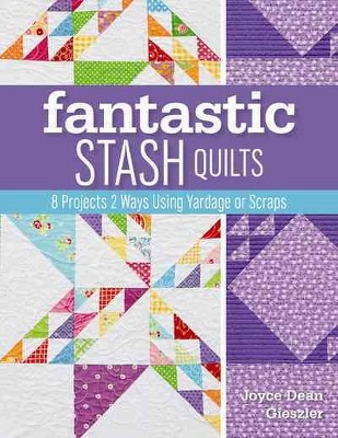 Fantastic Stash Quilts : 8 Projects 2 Ways Using Yardage or Scraps (Paperback)(Joyce Dean Gieszler)