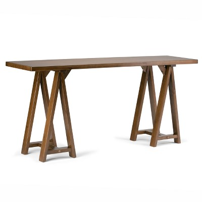 Hawkins Solid Wood Console Sofa Table - Wyndenhall