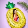 Pineapple Pool Float Yellow - Sun Squad™ - image 3 of 3