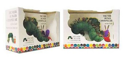 Very Hungry Caterpillar Board Book and Plush (Hardcover)(Eric Carle)