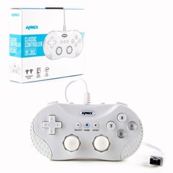 KMD Classic Wired Controller Gamepad Compatible with Nintendo Wii / Wii U - White