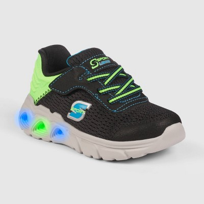 Toddler Boys' S Sport by Skechers Timmie Light-Up Apparel Sneakers