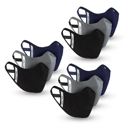 SAFE + MATE x Case-Mate Washable & Reusable Cloth Masks - Adult Multi Packs - Includes Filters