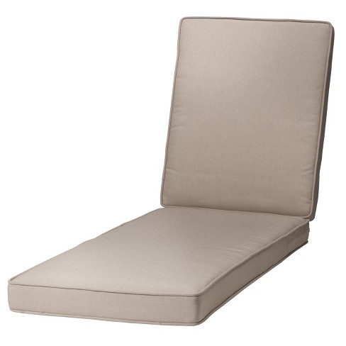 rolston outdoor chaise lounge cushion beige grand basket target