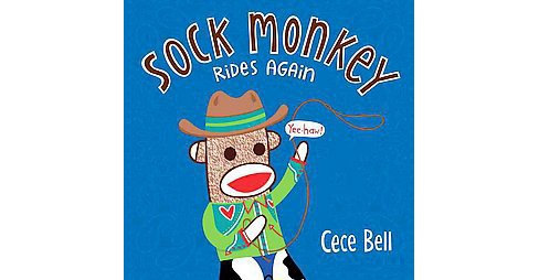 Sock Monkey Rides Again (School And Library) (Cece Bell) - image 1 of 1